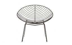 Jila-Black-Metal-Wire-Rounded-Wire-Chair
