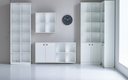 Scandi 2x6 White Display Unit