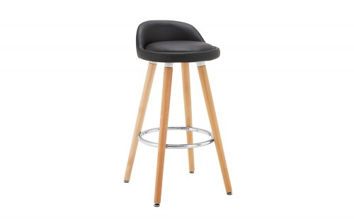 Adrian-Black-Bar-Stool-Angled-View