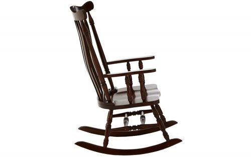 Benedict-Traditional-Espresso-Colour-Rocking-Chair-Side-View