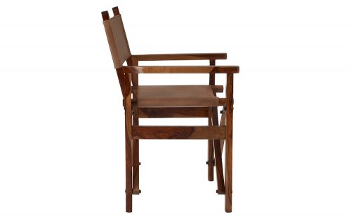 Brunel-Brown-Leather-Folding-Chair-Side-View