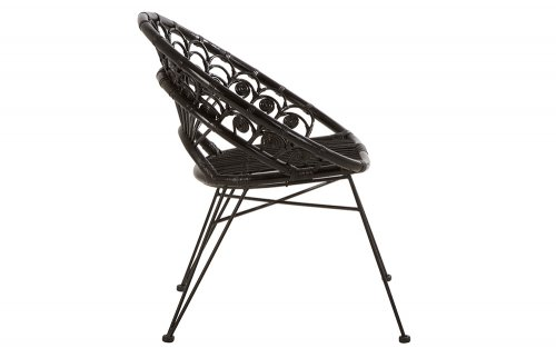 Merriam-Black-Rattan-Chair-Side-View