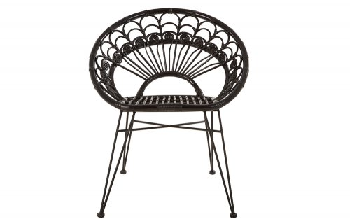 Merriam-Black-Rattan-Chair