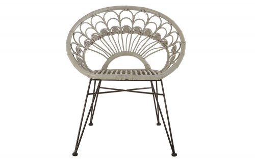 Merriam-Grey-Rattan-Chair