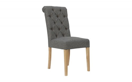Olivia-Button-Back-Chair-with-Scroll-Top-in-Dark-Grey-CH28-DG
