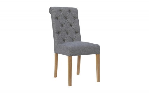 Olivia-Button-Back-Chair-with-Scroll-Top-in-Light-Grey-CH28-LG