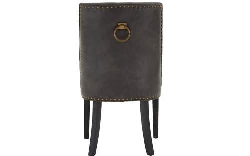 Xander-Grey-Leather-Effect-Dining-Chair-Back-View
