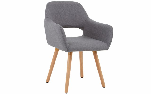 Acebo-Grey-Dining-Chair-with-Wooden-Legs-Angled-View