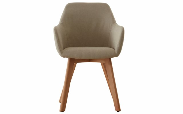 Acebo-Stone-Fabric-Chair-with-Wood-Legs