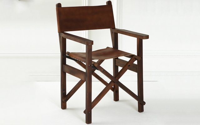 Brunel-Brown-Leather-Folding-Chair-Angled-View