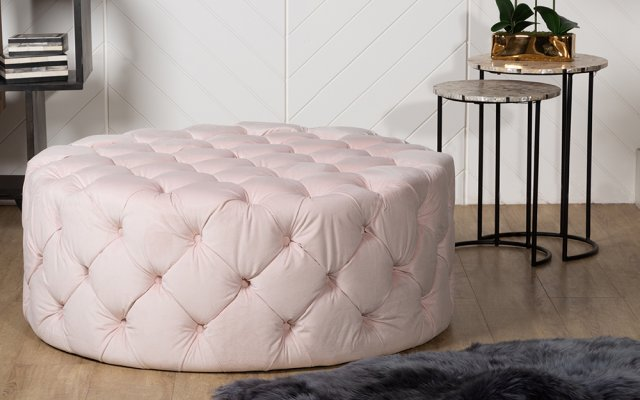 Cluda-Footstool-with-2-Side-Tables