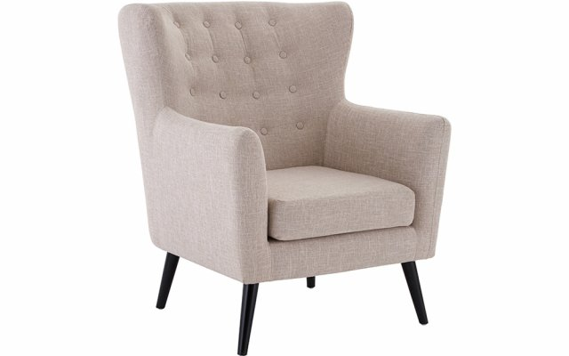 Donna-Natural-Fabric-Armchair-Angled-View
