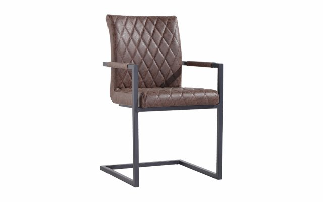 Hira-Diamond-Stitch-Carver-Chair-in-Brown-CH22-BR