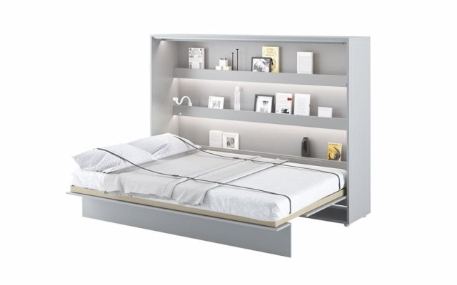 Artemis Horizontal Wall Double Bed