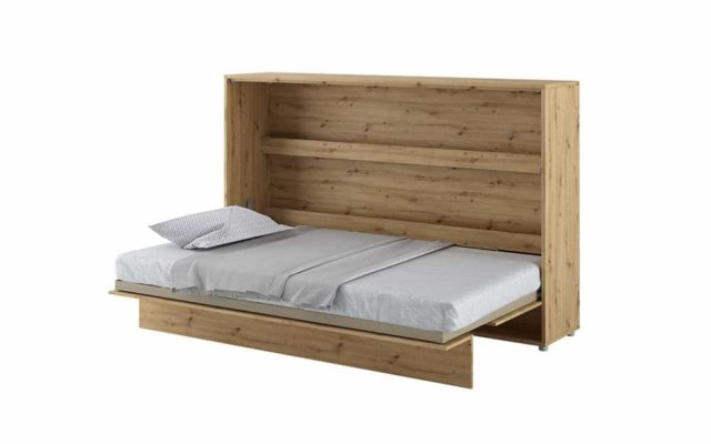 Artemis Small Double Horizontal Wall Bed