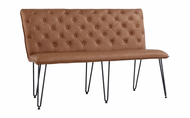 Jasper-2-Seater-Studded-Back-Bench-with-Hairpin-Legs-in-Tan-CH19-TAN