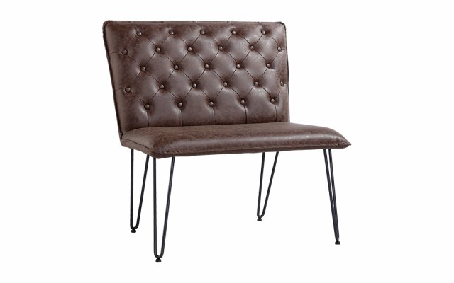 Jasper-Single-Seater-Studded-Back-Bench-with-Hairpin-Legs-in-Brown-CH20-BR