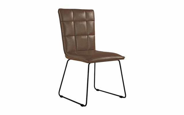 Jenson-Panel-Back-Chair-with-Angled-Legs-in-Brown-CH17-BR