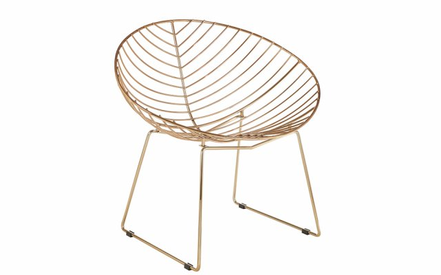 Jila-Gold-Metal-Wire-Rounded-Chair-Angled-View