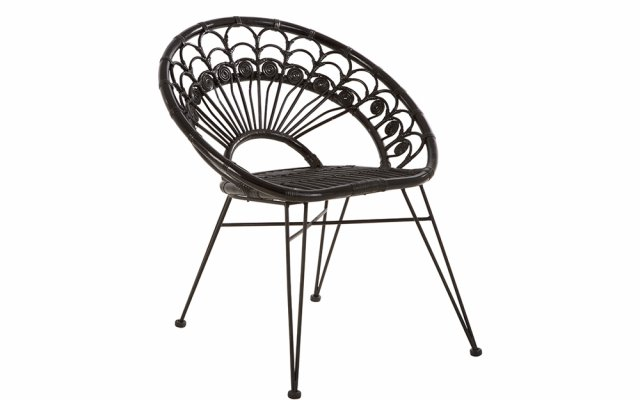 Merriam-Black-Rattan-Chair-Angled-View
