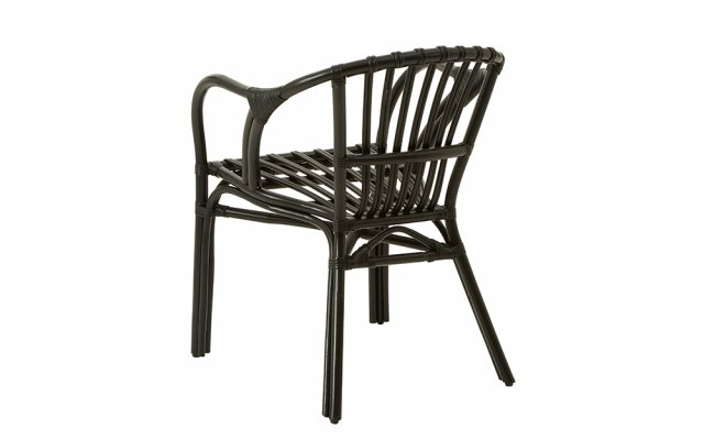 Nora-Black-Rattan-Low-Armchair-Back-Angled-View
