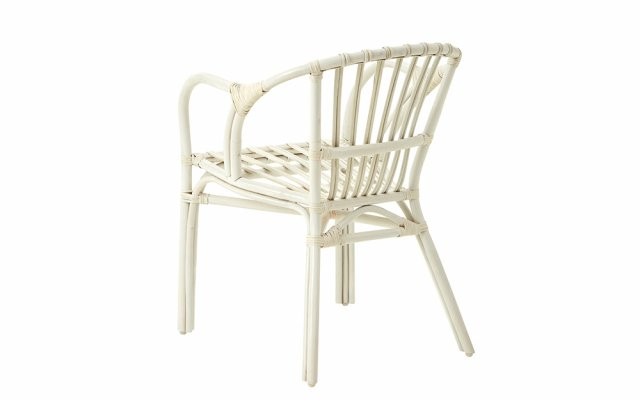 Nora-White-Rattan-Low-Armchair-Back-Angled-View