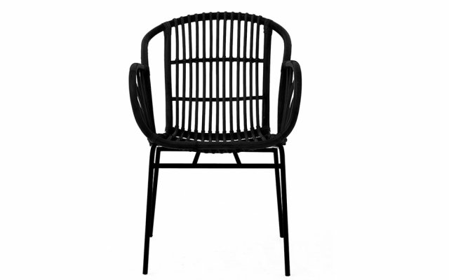 Quill-Black-Rattan-Chair-with-Raised-Sides