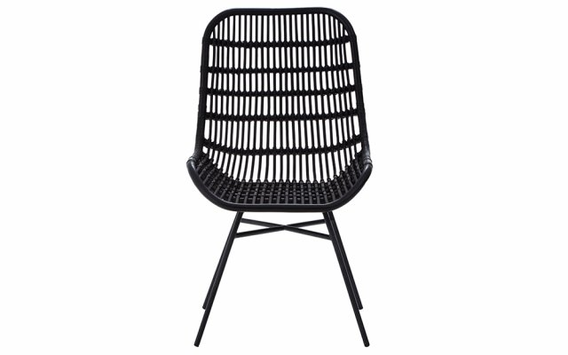Quill-Curved-Black-Chair-with-Iron-Legs