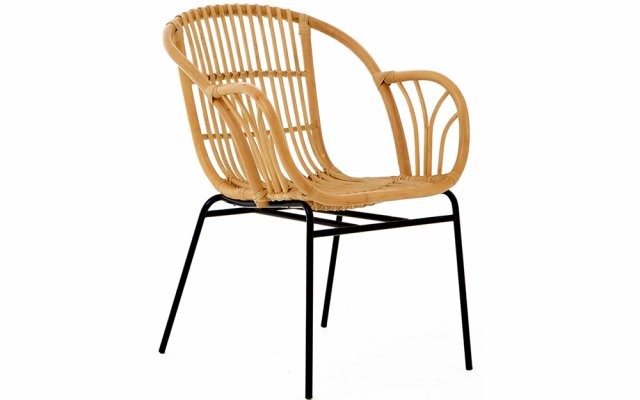 Quill-Natural-Rattan-Chair-with-Raised-Sides-Angled-View