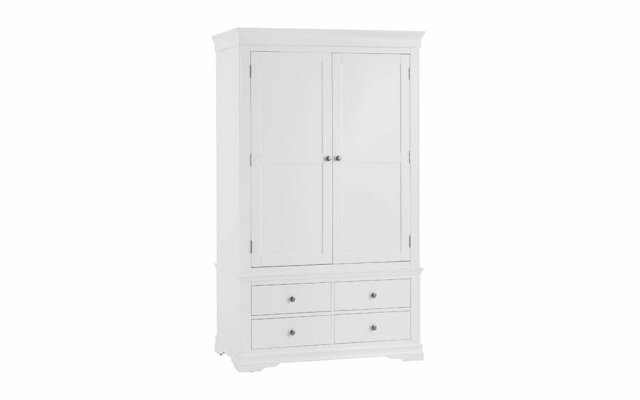 Swara-White-2-Door-2-Drawer-Wardrobe
