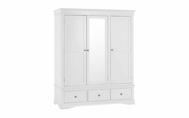 Swara-White-3-Door-2-Drawer-Wardrobe