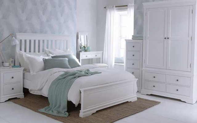 Swara-White-Bedroom-Collection