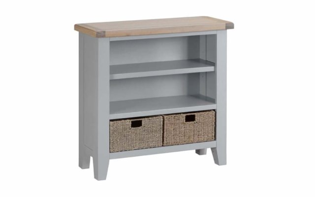 Tara-Dining-Small-Wide-Bookcase-in-Grey