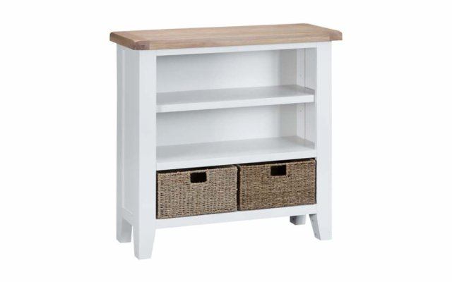 Tara-Dining-Small-Wide-Bookcase-in-White