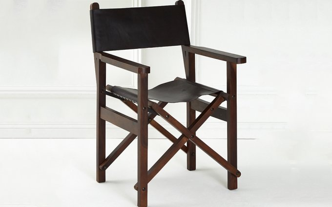 Brunel-Black-Leather-Folding-Chair-Angled-View