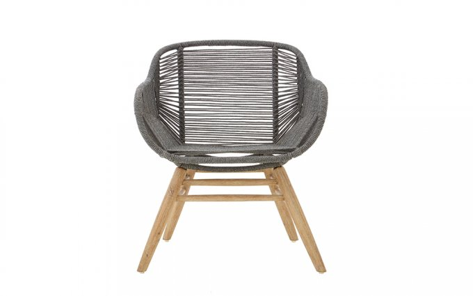 Cordelia-Grey-Rope-Armchair-Front-View