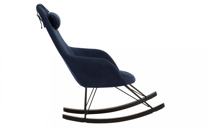 Cornell-Blue-Fabric-Chair-Side-View