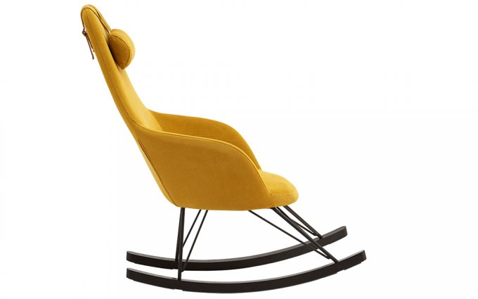 Cornell-Yellow-Fabric-Chair-Side-View