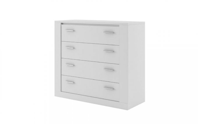 EKO 4 Drawer Sliderobe Chest