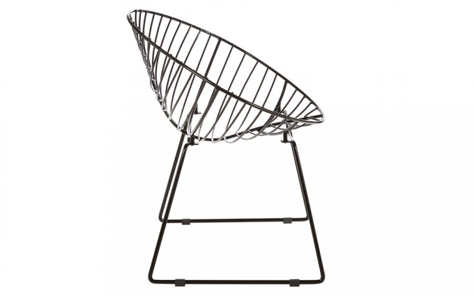 Jila-Black-Metal-Wire-Rounded-Wire-Chair-Side-View