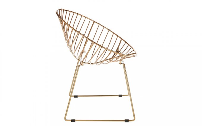 Jila-Gold-Metal-Wire-Rounded-Chair-Side-View