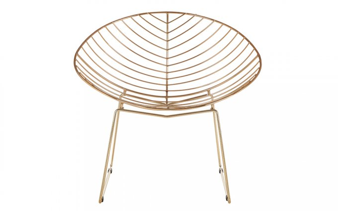 Jila-Gold-Metal-Wire-Rounded-Chair