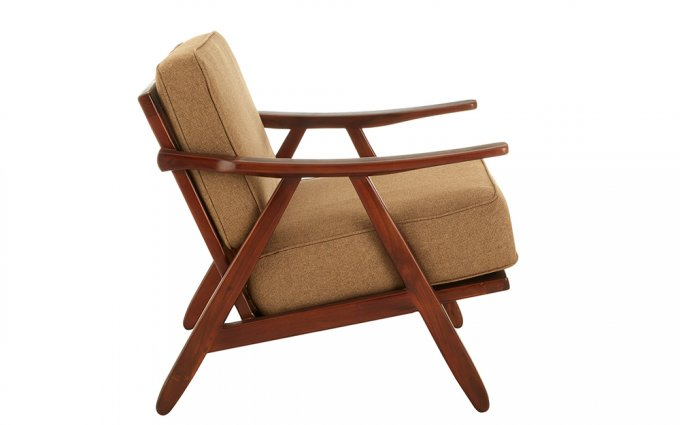 Ovi-Teak-Wood-And-Fabric-Chair-Side-View